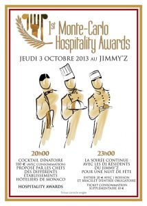 1st Monte-Carlo Hospitality Awards 2013
