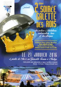 2ème Soirée Galette des Rois des métiers de l'hôtellerie, restauration, bars et discothèques