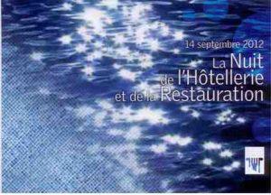 Nuit de l'Hôtellerie et de la Restauration 2012